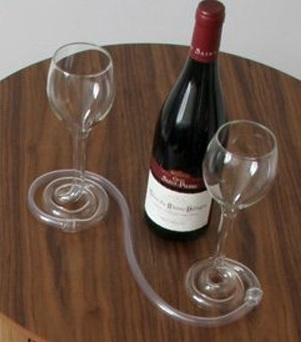 double wine glasses
